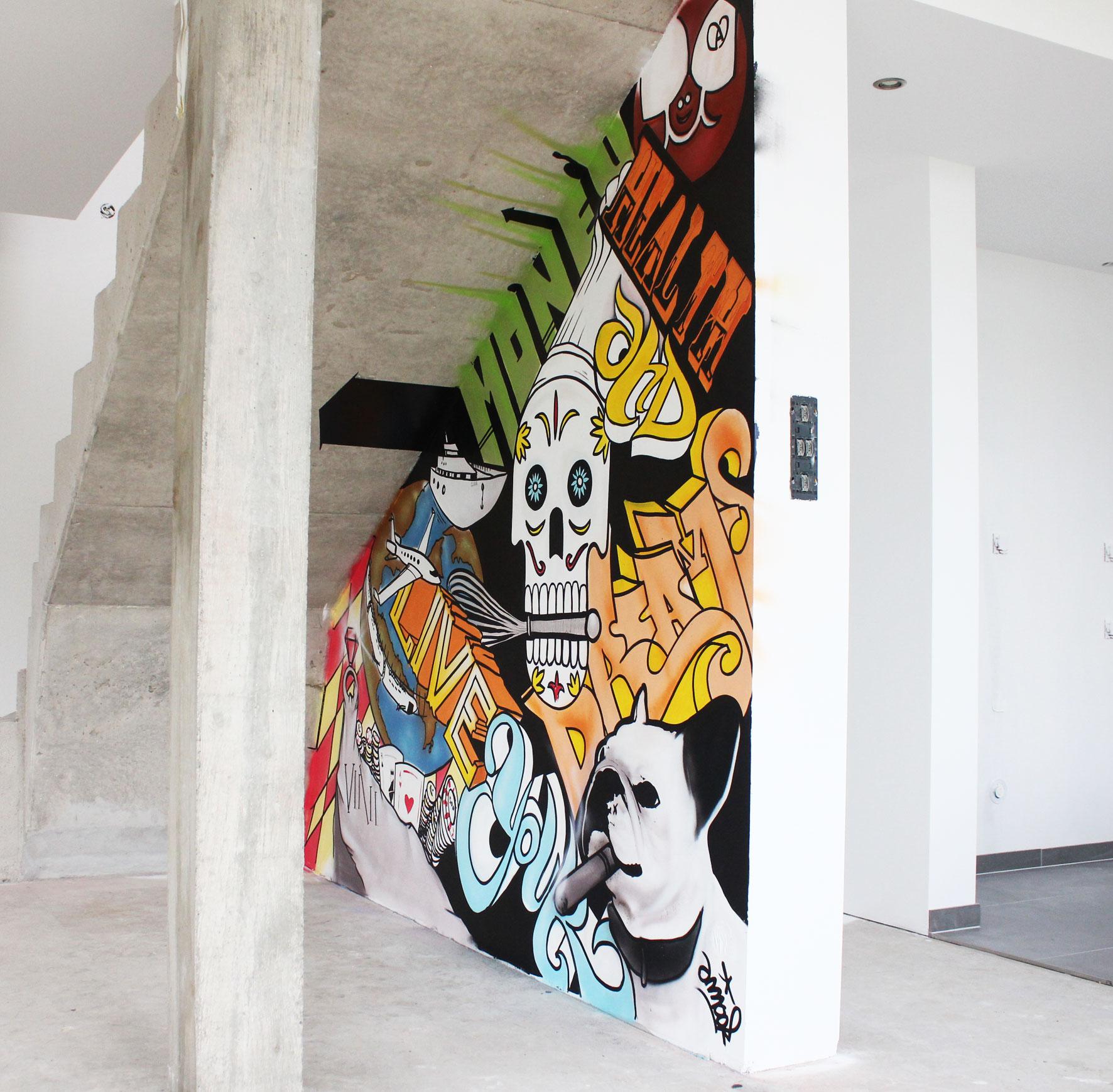 Deco graffiti pour professionnels