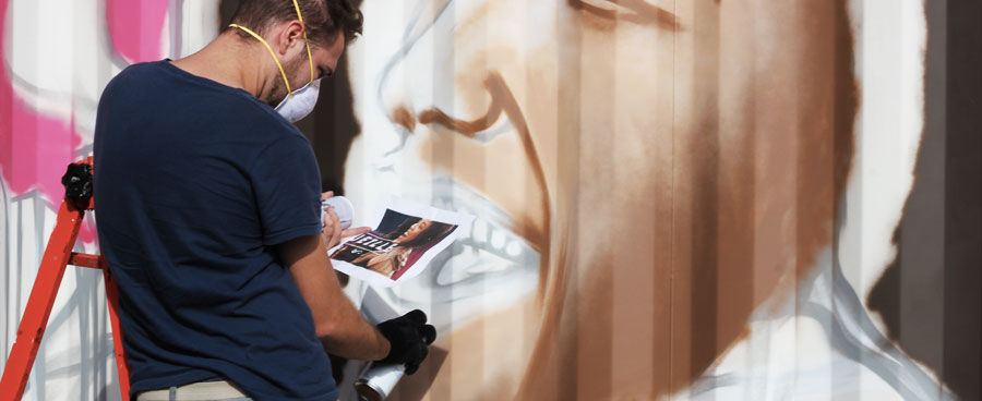 Un Graffeur Professionnel à votre service!