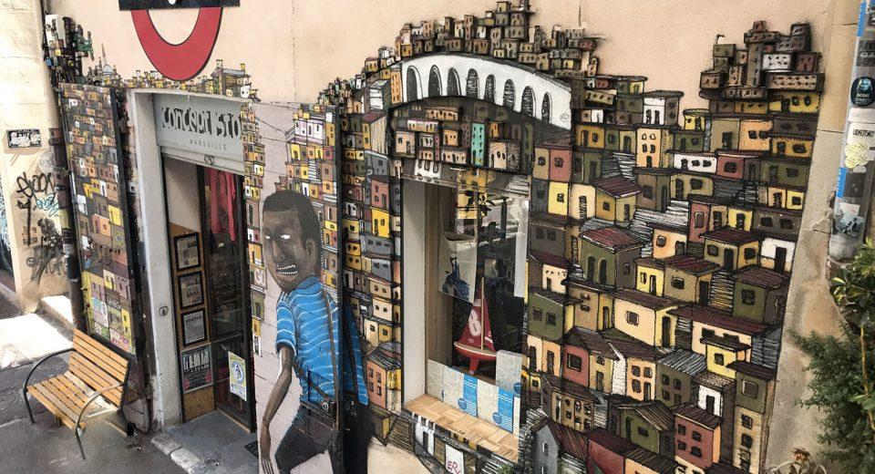Décorer sa boutique (bar, magasin, commerce…) avec du street art graffiti